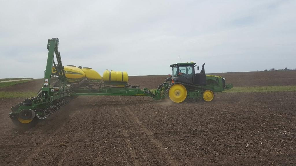 High Ortho and Conventional Polyphosphate Starter Fertilizers Being Applied